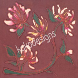 Honeysuckle bamboo print