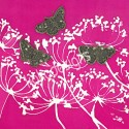 Speckled garden bamboo print